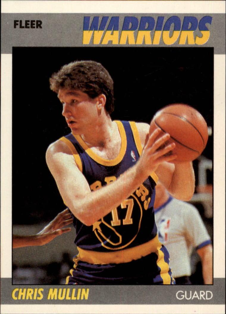1987-88 Fleer #77 Chris Mullin