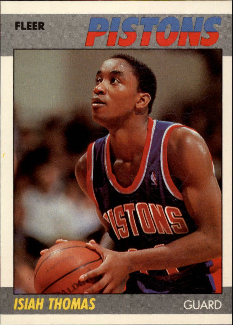 1987-88 Fleer #106 Isiah Thomas