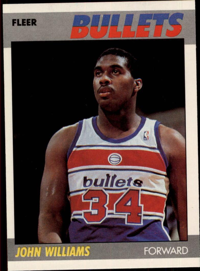 1987-88 Fleer #122 John Williams RC