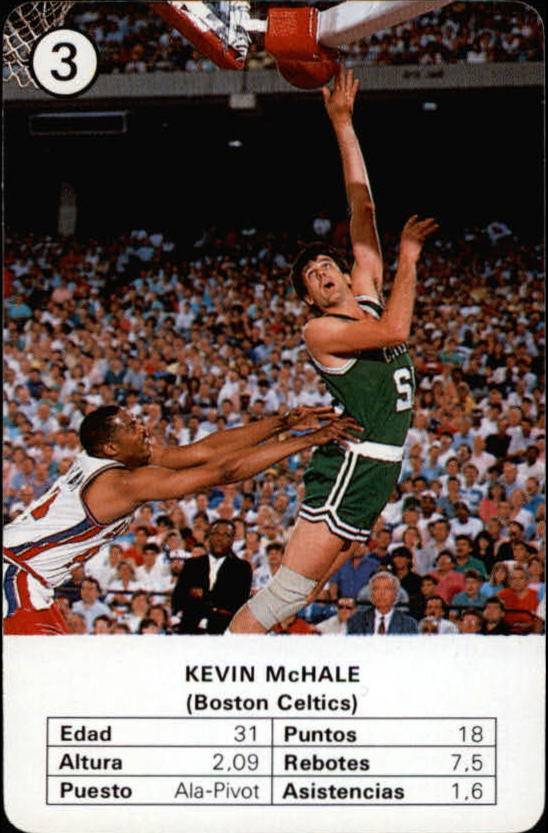 1988 Fournier NBA Estrellas #3 Kevin McHale