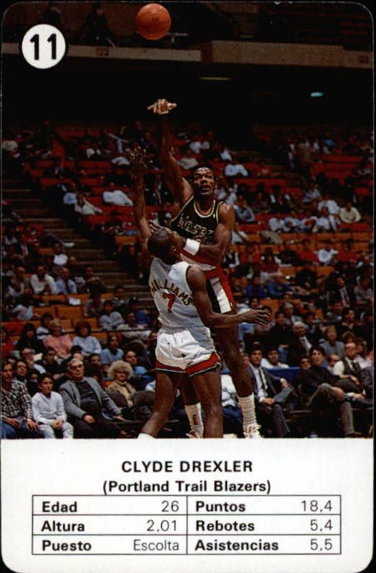 1988 Fournier NBA Estrellas #11 Clyde Drexler