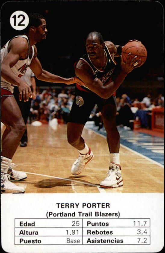 1988 Fournier NBA Estrellas #12 Terry Porter