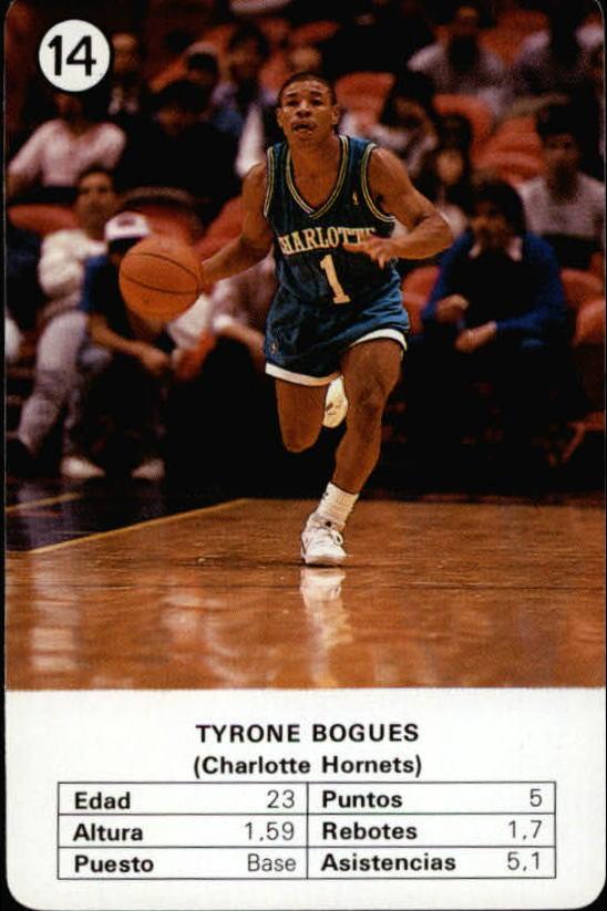1988 Fournier NBA Estrellas #14 Muggsy Bogues