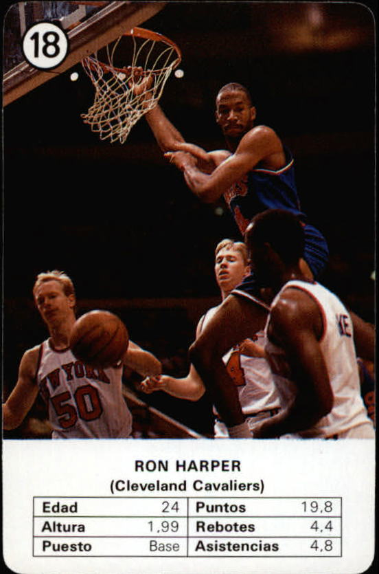 1988 Fournier NBA Estrellas #18 Ron Harper