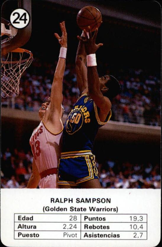 1988 Fournier NBA Estrellas #24 Ralph Sampson