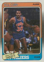 1988-89 Fleer #14 Dell Curry RC