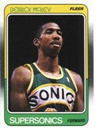 1988-89 Fleer #109 Derrick McKey RC
