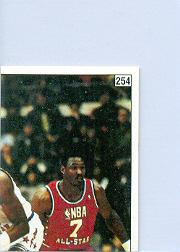 1988-89 Panini Stickers Spanish #254 AS Puzzle/Karl Malone