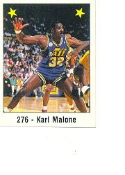 1988-89 Panini Stickers Spanish #276 Karl Malone AS