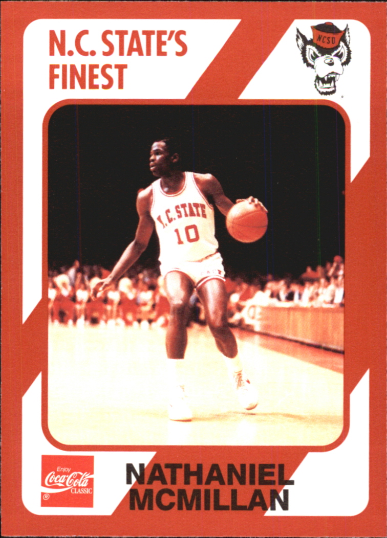 1989 North Carolina State Collegiate Collection #105 Nate McMillan