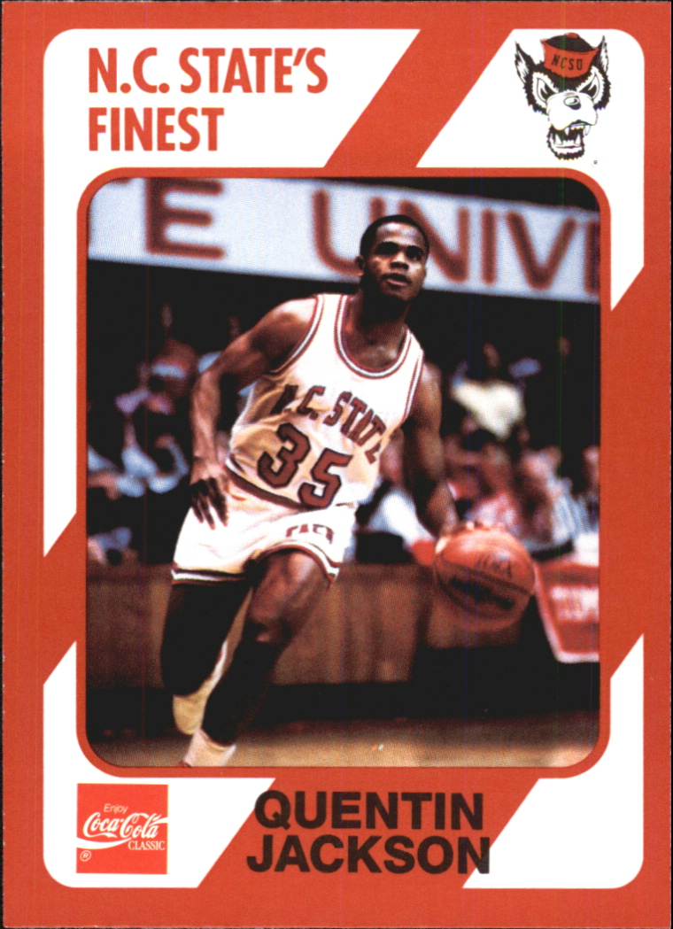 1989 North Carolina State Collegiate Collection #150 Quentin Jackson