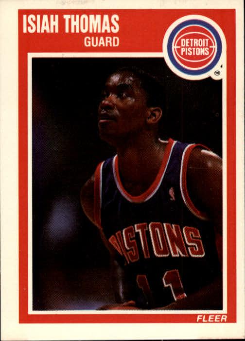 1989-90 Fleer #50 Isiah Thomas