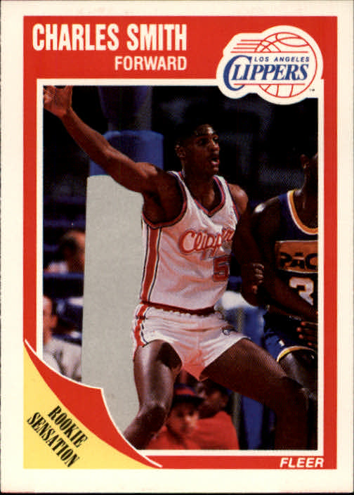 1989-90 Fleer #73 Charles Smith RC