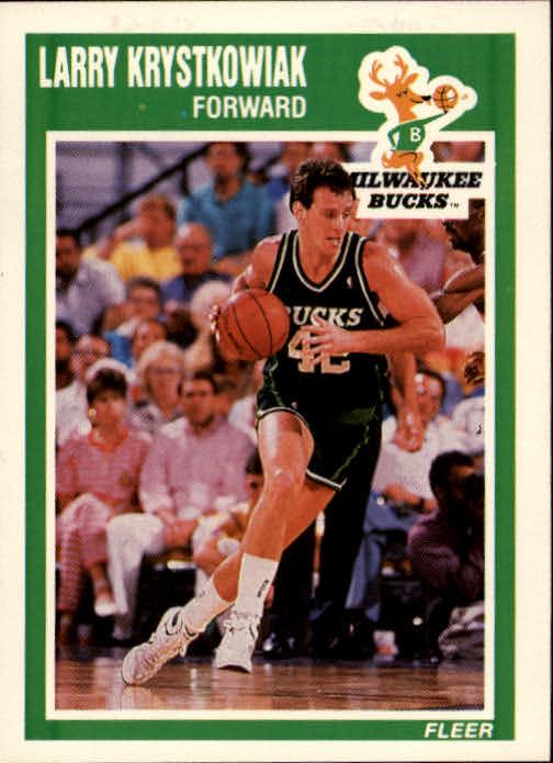 1989-90 Fleer #87 Larry Krystkowiak RC