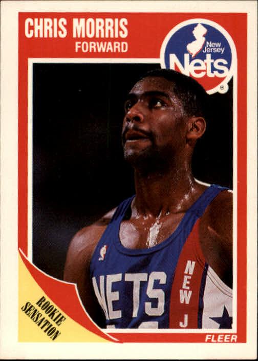1989-90 Fleer #99 Chris Morris RC