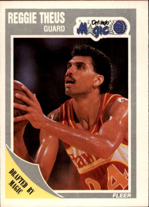 1989-90 Fleer #111 Reggie Theus