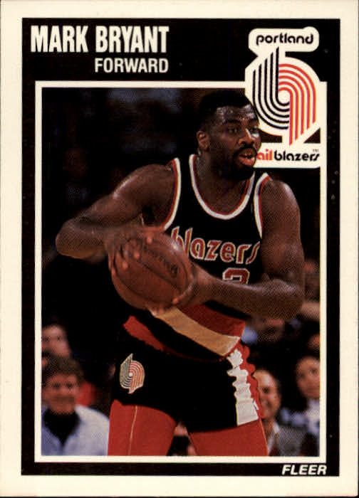 1989-90 Fleer #127 Mark Bryant RC