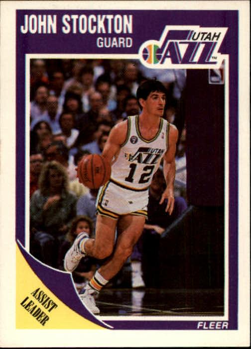 1989-90 Fleer #156 John Stockton