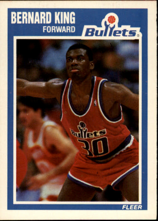 1989-90 Fleer #159 Bernard King