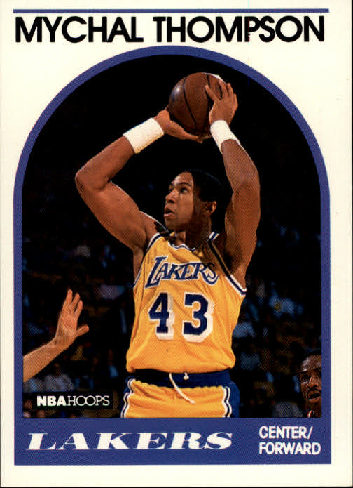 1989-90 Hoops #4 Mychal Thompson
