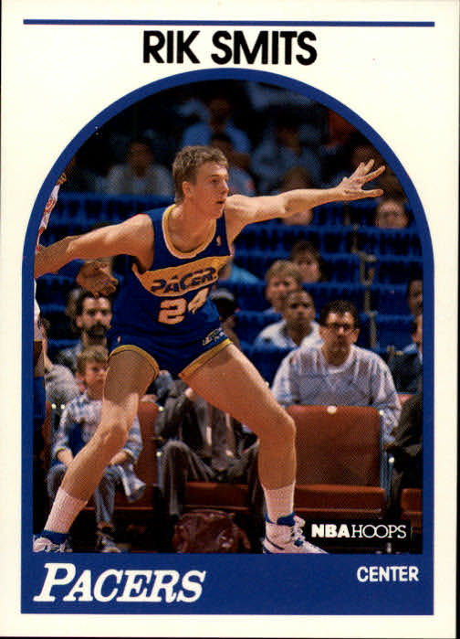 1989-90 Hoops #37 Rik Smits RC