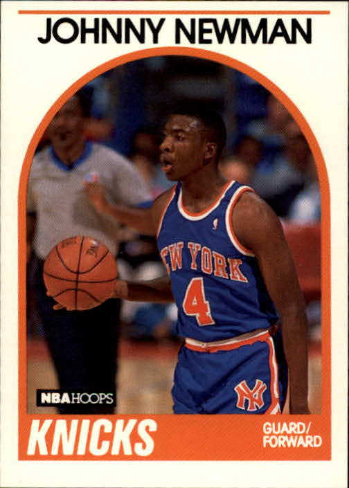 1989-90 Hoops #58 Johnny Newman RC