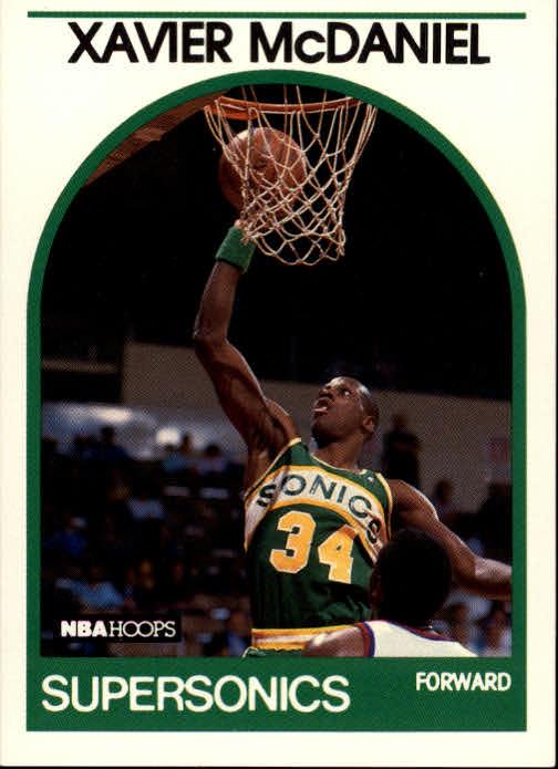 1989-90 Hoops #70 Xavier McDaniel