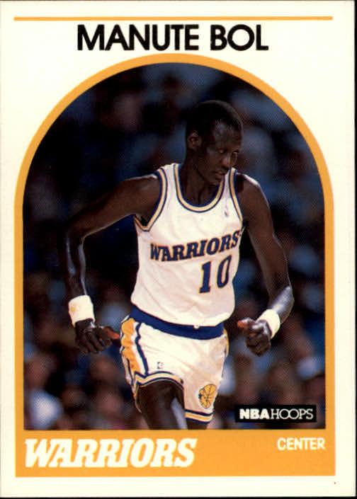 1989-90 Hoops #75 Manute Bol