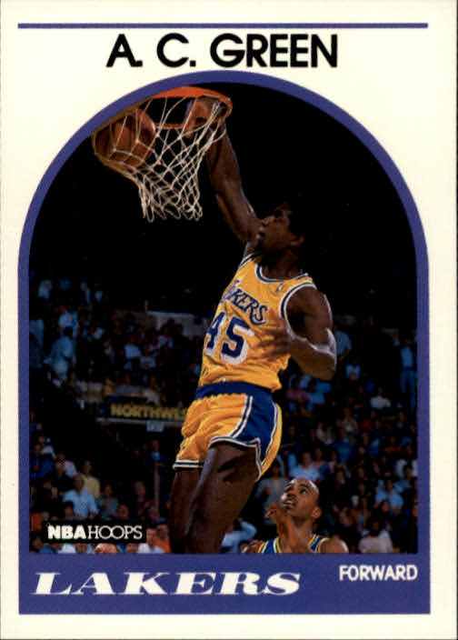 1989-90 Hoops #124 A.C. Green