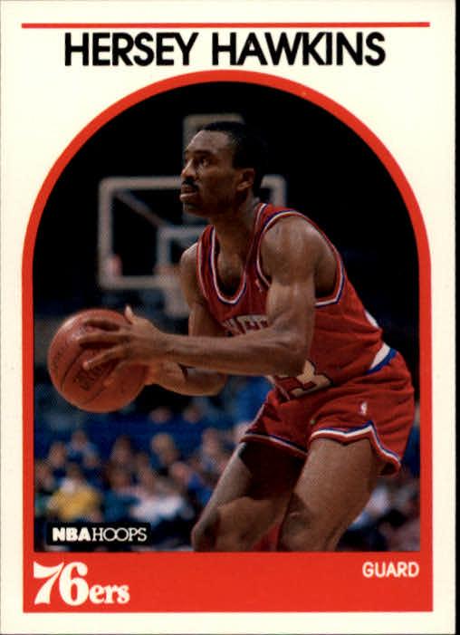 1989-90 Hoops #137 Hersey Hawkins RC