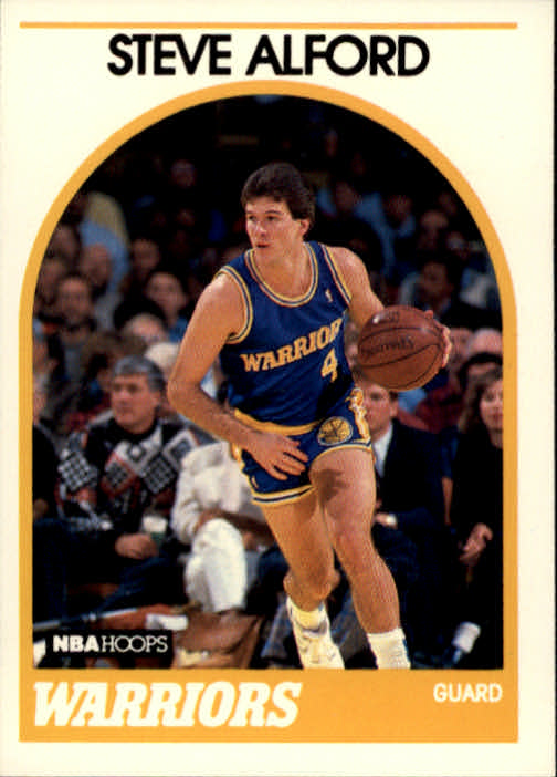 1989-90 Hoops #143 Steve Alford SP RC