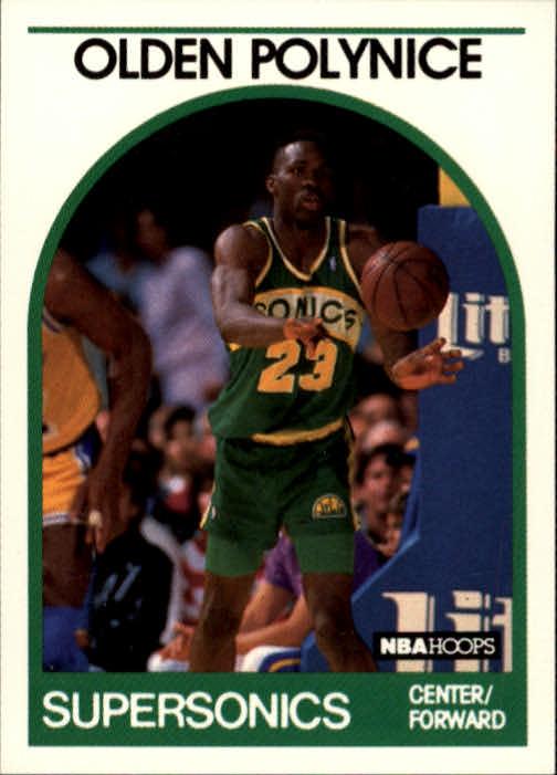 1989-90 Hoops #152 Olden Polynice RC