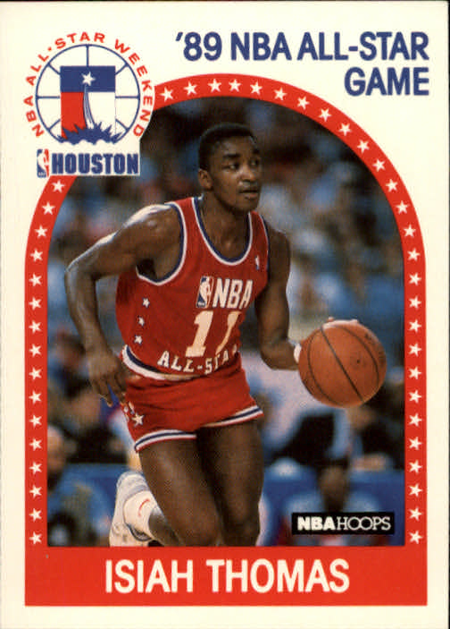 1989-90 Hoops #177 Isiah Thomas AS