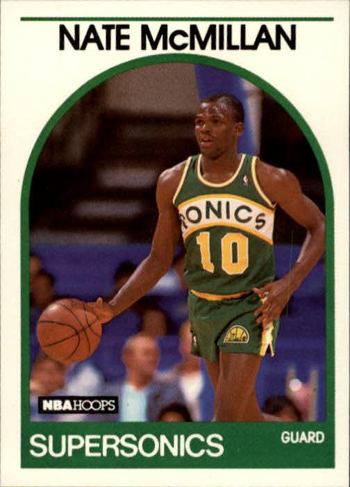 1989-90 Hoops #192 Nate McMillan