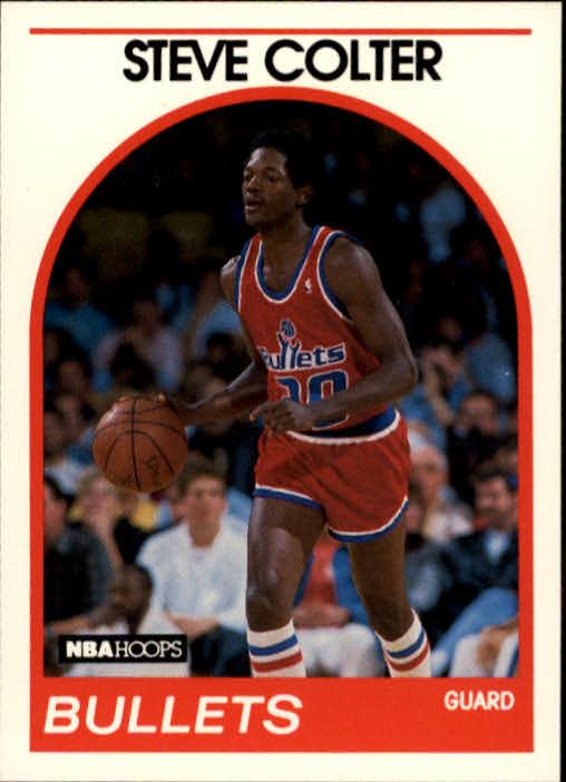 1989-90 Hoops #214 Steve Colter