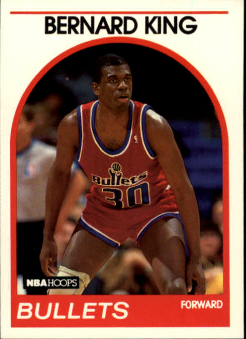 1989-90 Hoops #240 Bernard King
