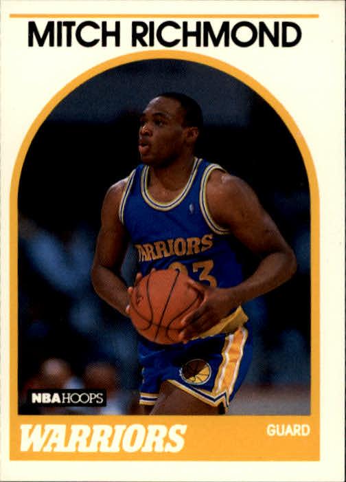 1989-90 Hoops #260 Mitch Richmond RC
