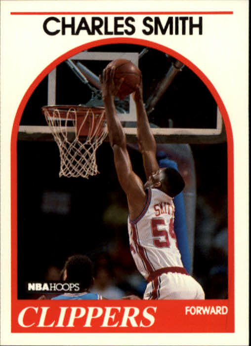 1989-90 Hoops #262 Charles Smith RC