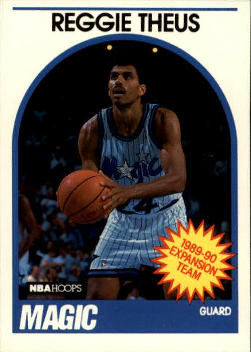 1989-90 Hoops #302 Reggie Theus