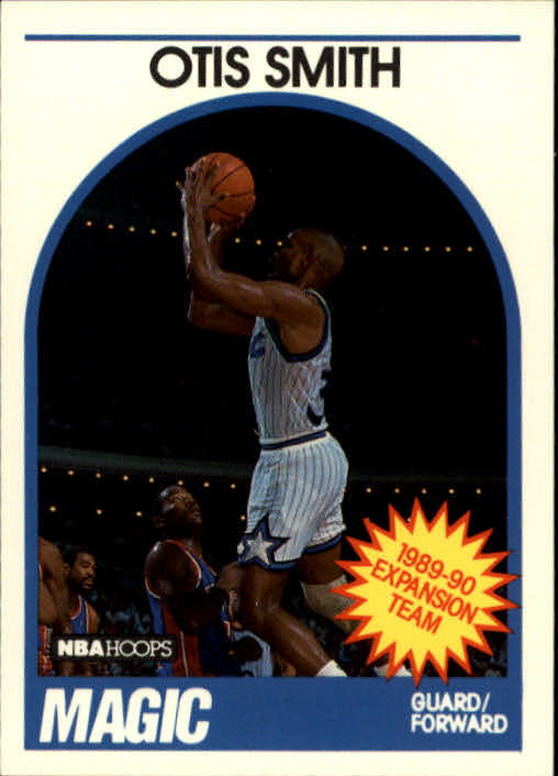 1989-90 Hoops #303 Otis Smith