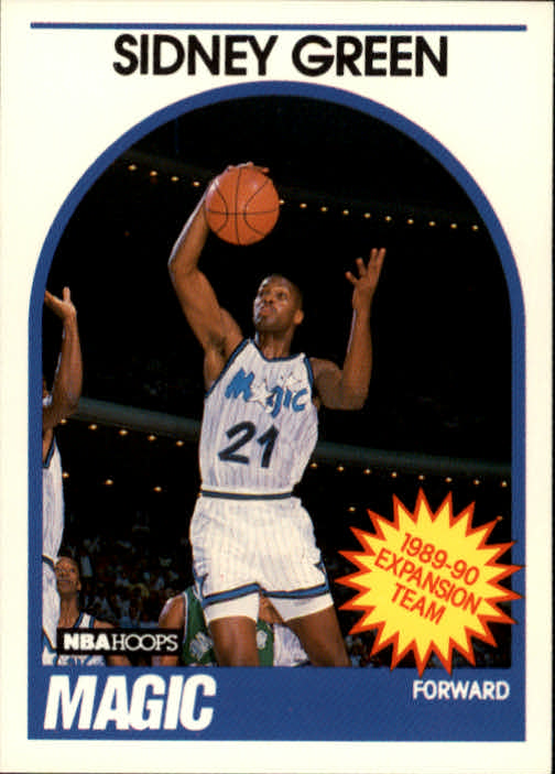 1989-90 Hoops #305 Sidney Green