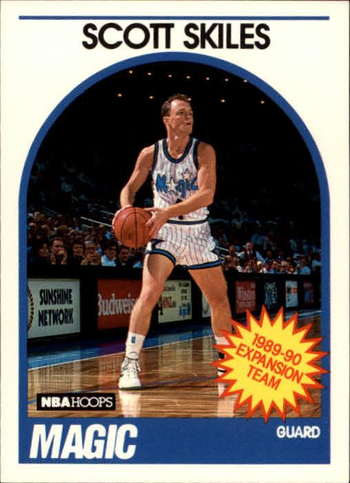 1989-90 Hoops #318 Scott Skiles