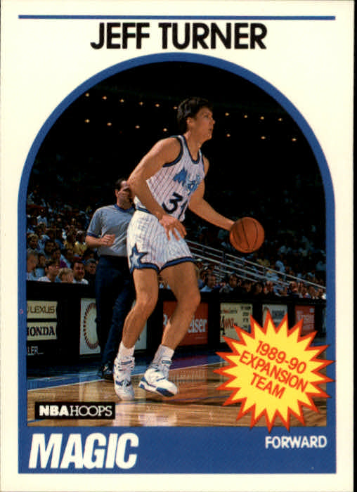 1989-90 Hoops #322 Jeff Turner