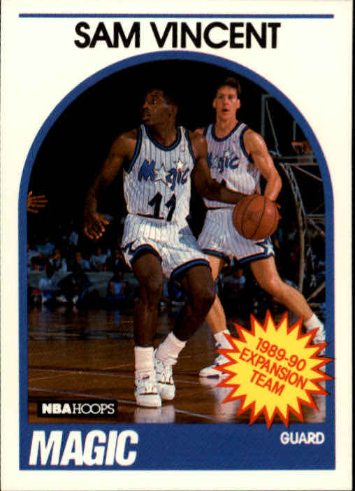 1989-90 Hoops #328 Sam Vincent