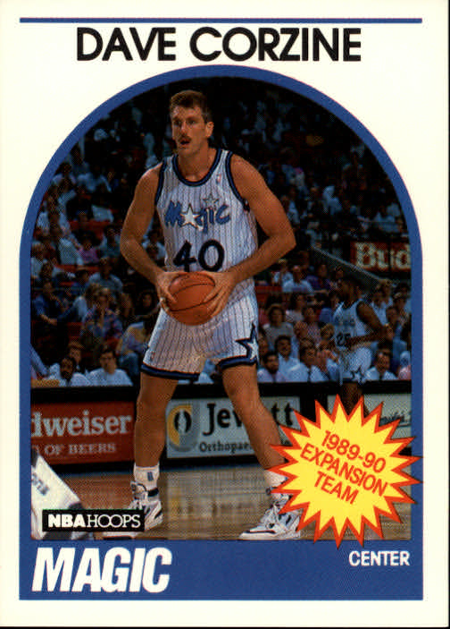 1989-90 Hoops #343 Dave Corzine