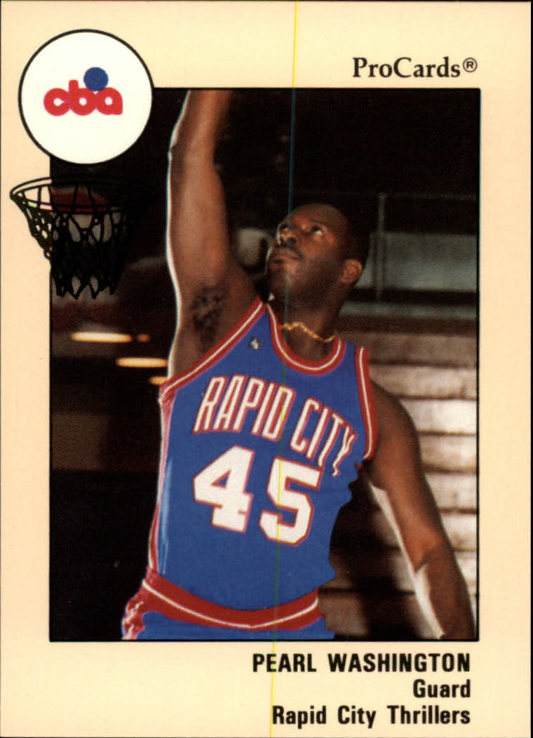 1989-90 ProCards CBA #31 Pearl Washington