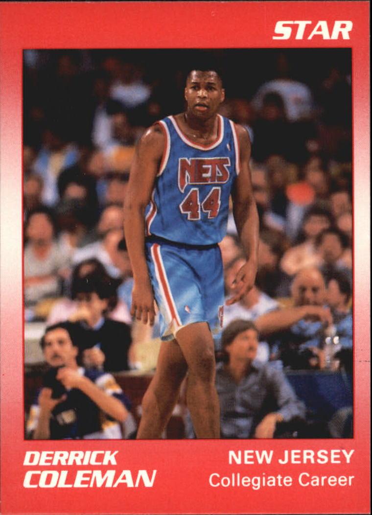 1990 Star Derrick Coleman II #4 Derrick Coleman/Collegiate Career