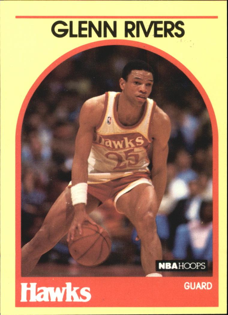 1990 Hoops 100 Superstars #1 Doc Rivers