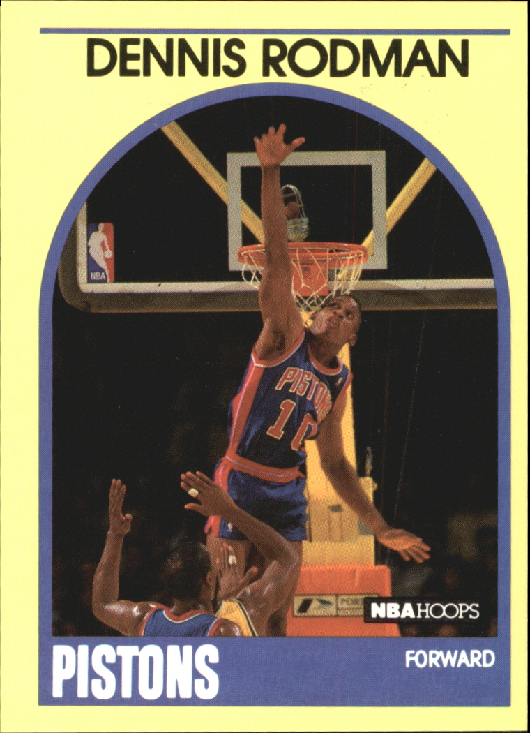 1990 Hoops 100 Superstars #30 Dennis Rodman
