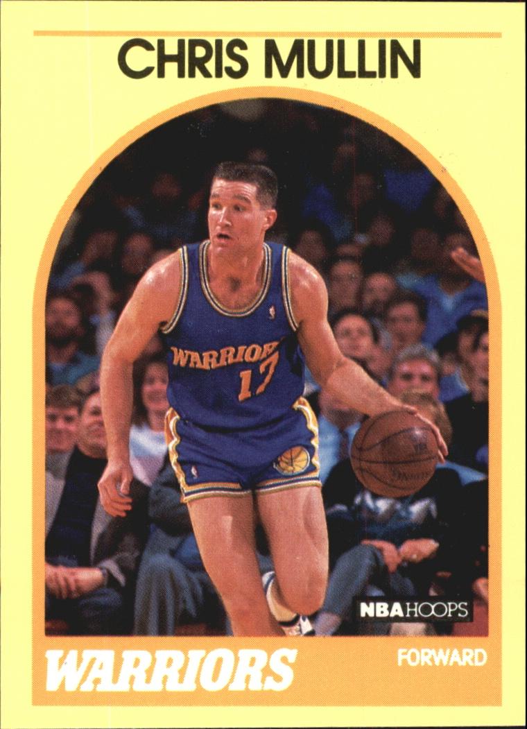 1990 Hoops 100 Superstars #32 Chris Mullin
